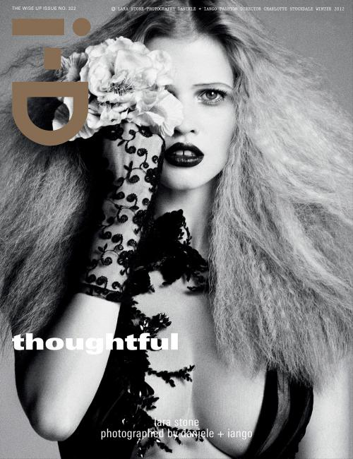 Lara Stone - Naked in i-D magazine #322 (1)