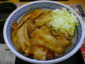 吉野家2012.11.24