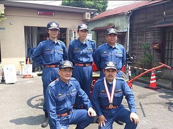 矢口消防団20120624
