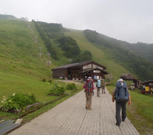 唐松岳~五竜岳~美ヶ原~霧が峰~蓼科山 036-001