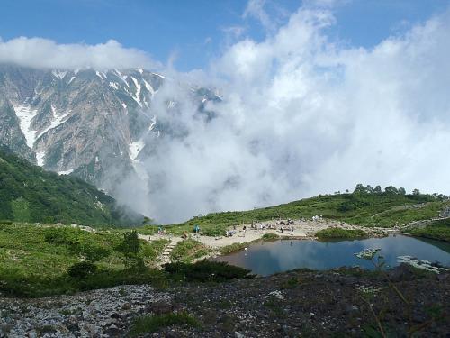 唐松岳~五竜岳~美ヶ原~霧が峰~蓼科山 051-001