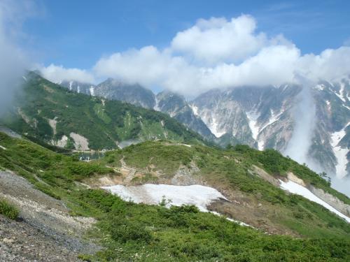 唐松岳~五竜岳~美ヶ原~霧が峰~蓼科山 050