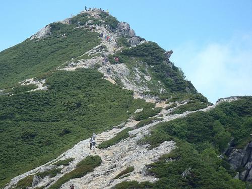 唐松岳~五竜岳~美ヶ原~霧が峰~蓼科山 058-001
