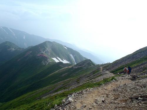 唐松岳~五竜岳~美ヶ原~霧が峰~蓼科山 079-002