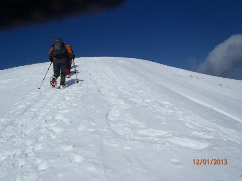 深入山スノーハイキング 011