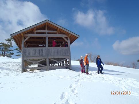 深入山スノーハイキング 026
