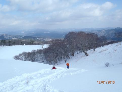 深入山スノーハイキング 022