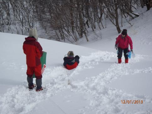 深入山スノーハイキング 017
