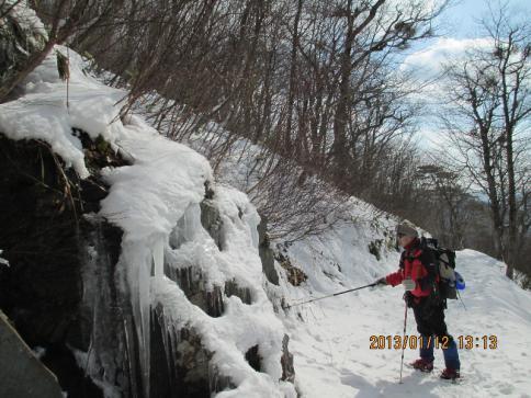 深入山スノーハイキング M 016