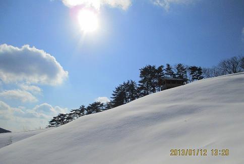 深入山スノーハイキング M 018-001