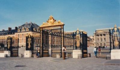ベルサイユ宮正面