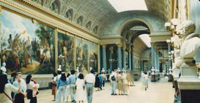 ベルサイユ宮内の戦史回廊