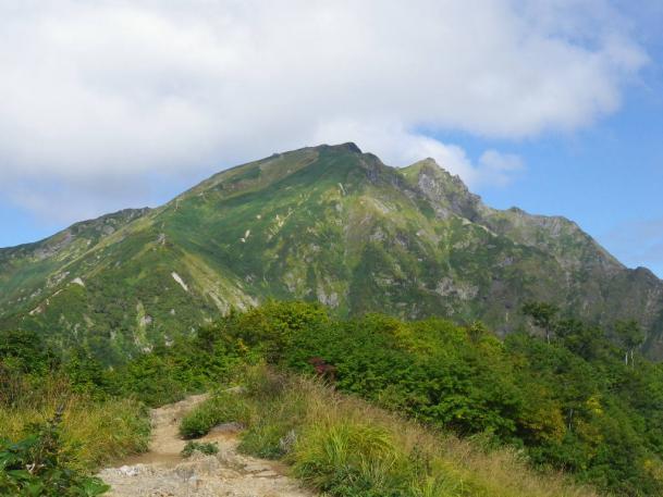 天神から谷川岳