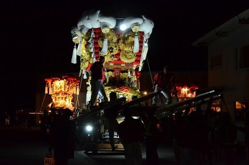 萩原祭り・宵④