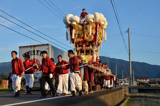 萩原祭り・宵②