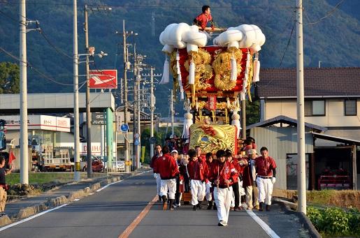 萩原祭り・宵①