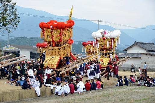 萩原祭り・本祭り③