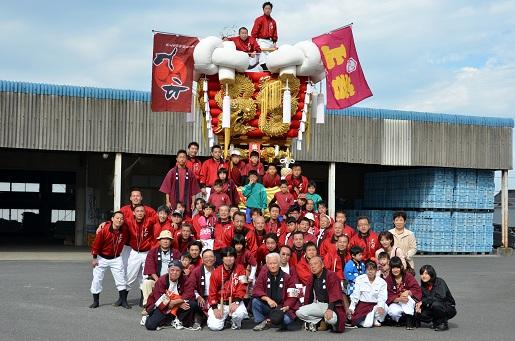萩原祭り・本祭り①