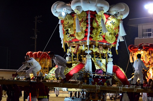 萩原祭り・本祭り⑦