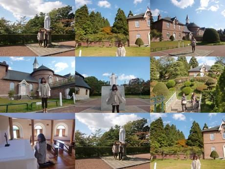 明治31年にフランスから派遣された8人の修道女が設立した日本初の女子修道院。