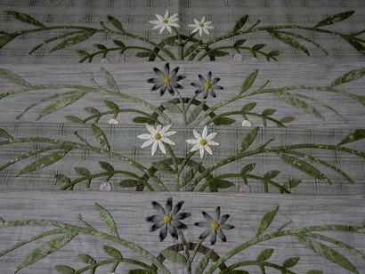 マンスリーキルトボーダーの花