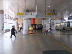 今治駅(バリィさん)