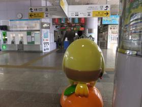 今治駅2(バリィさん)