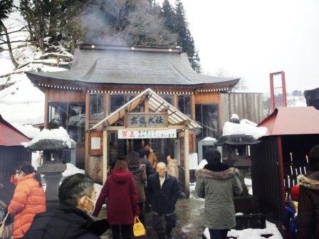 高龍神社初詣140101b