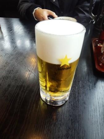 幸楽苑ビール140101
