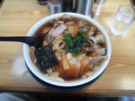 あおきやシャーシュー麺大盛り140112