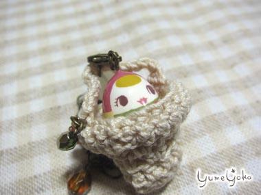 文化人形風マトリョーシカのバッグチャーム