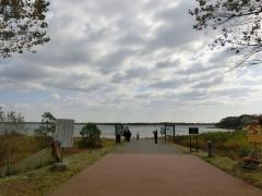 ウトナイ湖入口