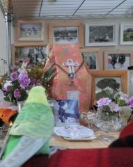 ウニ祭壇とグリちゃん