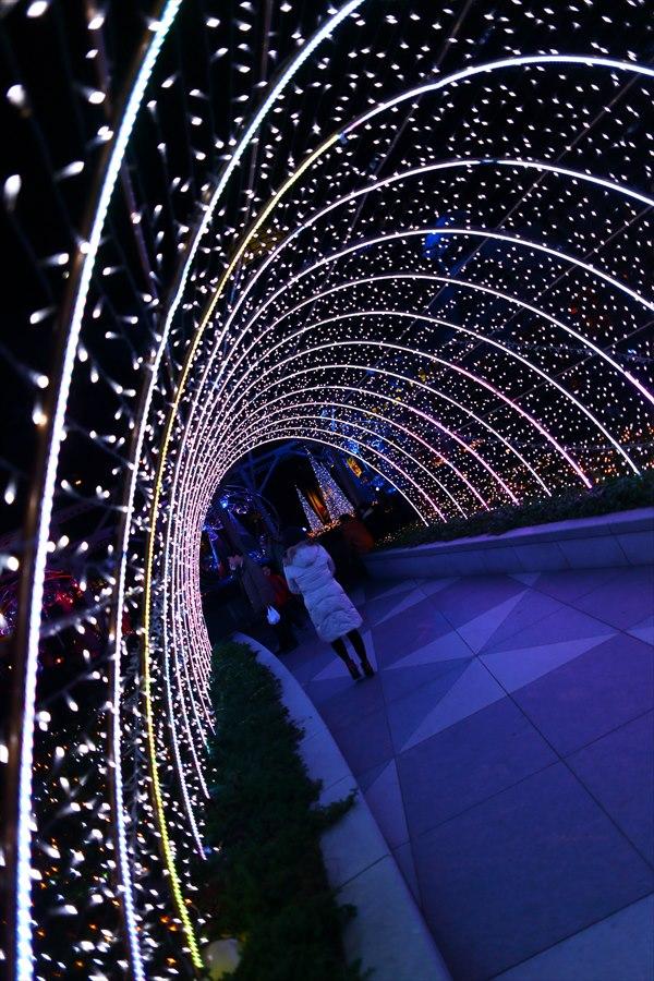 新橋夜景01トンネル07