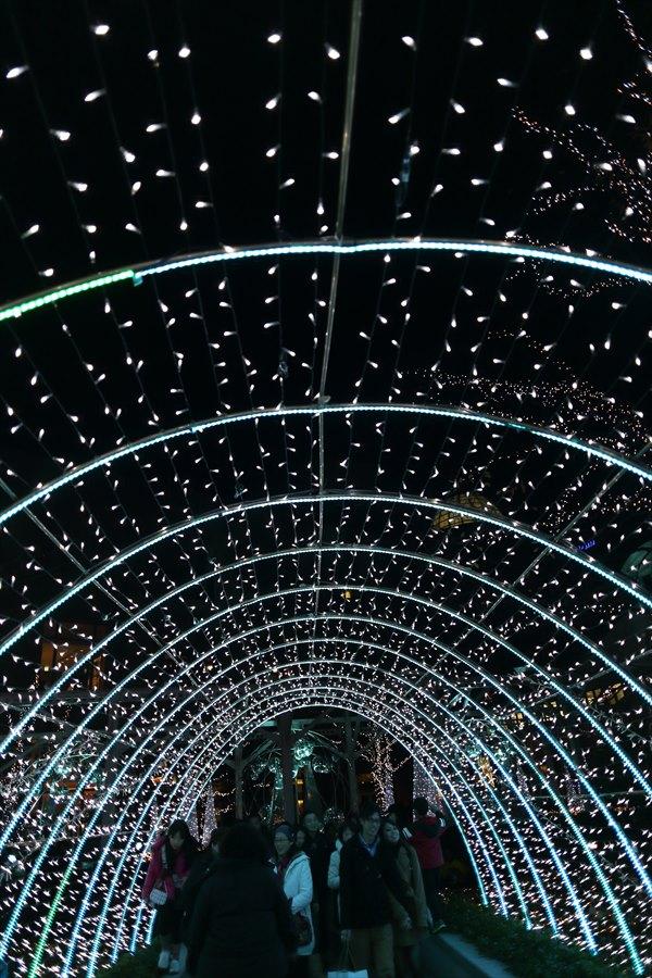 新橋夜景01トンネル08