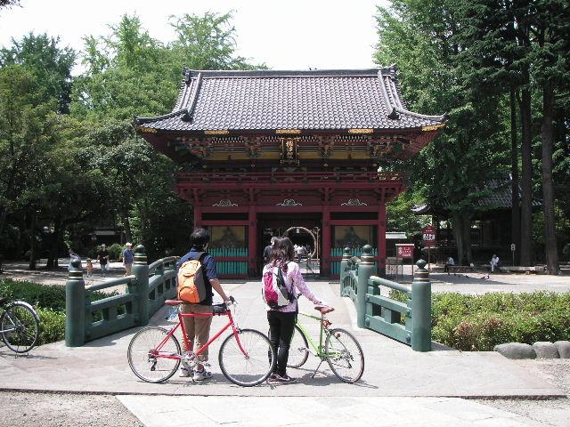 自転車の 東京バイク 自転車 レンタル : 根津から南下し後楽園からお濠 ...