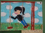 宿泊学習の絵2011