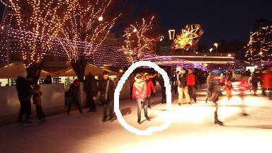 イルミネーションアイススケート