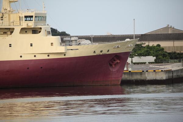 右舷船首付近_20120709