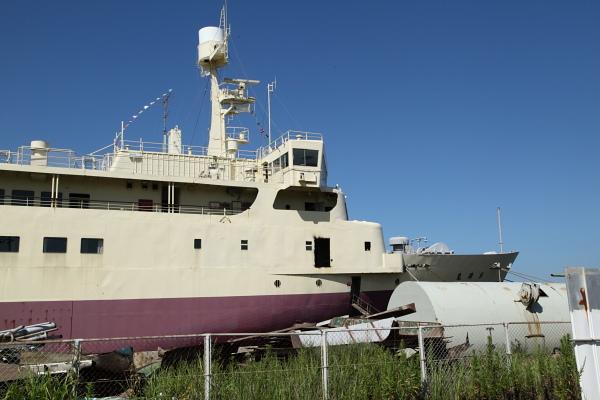 右舷船首付近_20120804