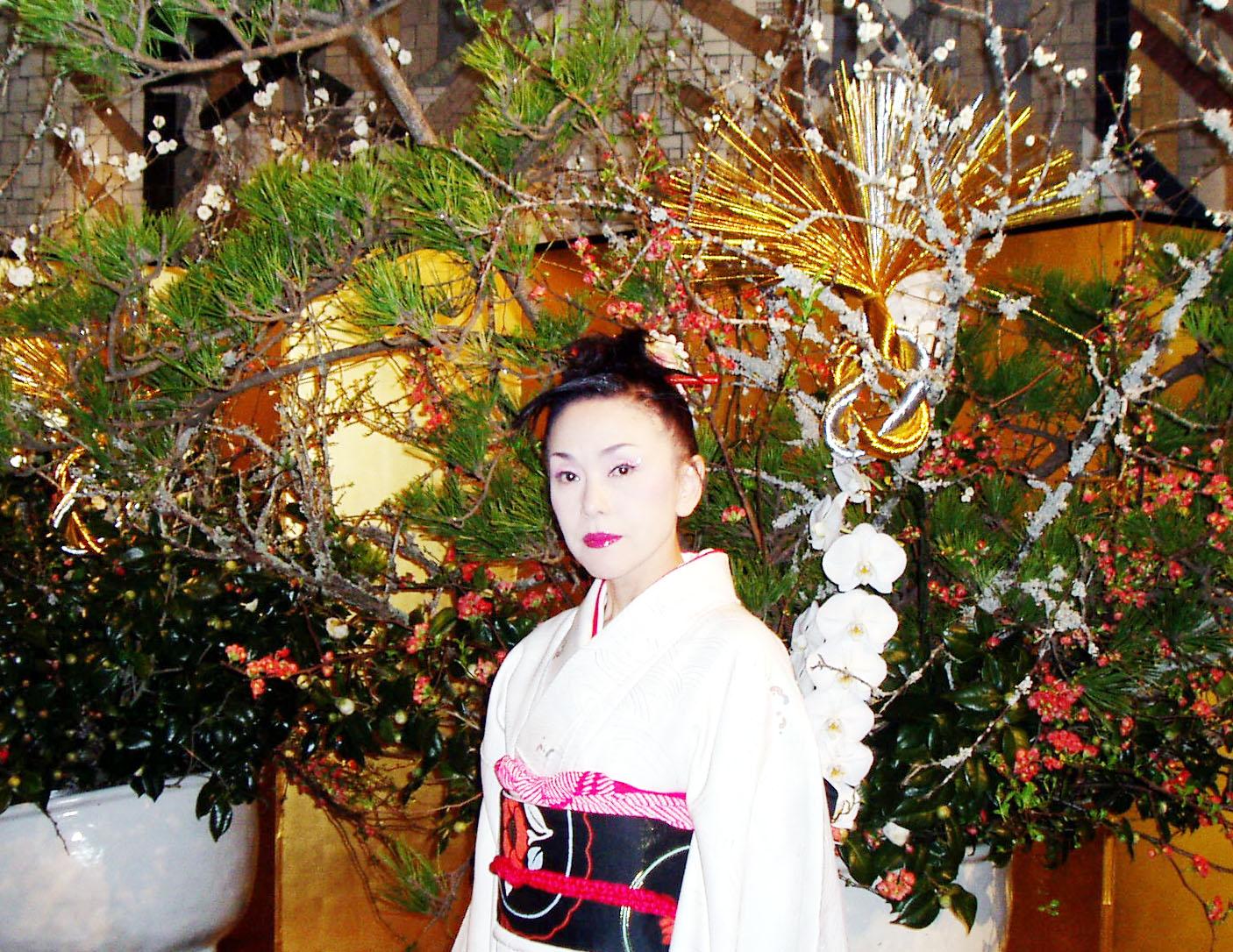 2013新年会花の前明