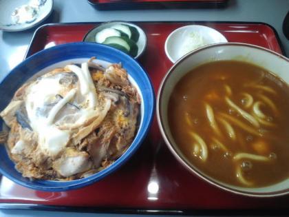 120703_カレーうどん&親子丼