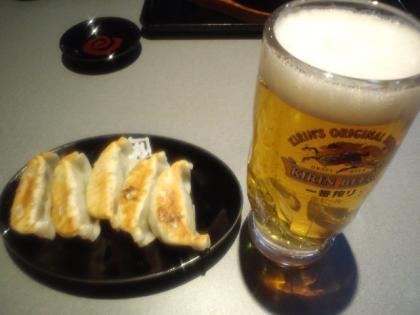 130326_餃子&生ビール
