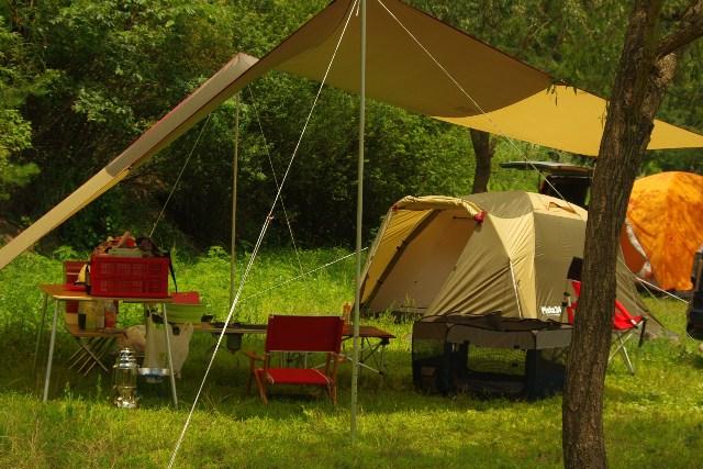 西湖キャンプ2