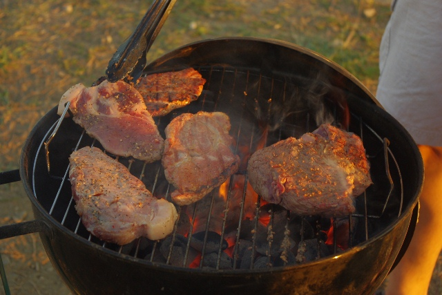 お肉やきやき