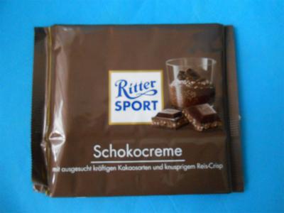 リッタースポーツチョコクリーム1