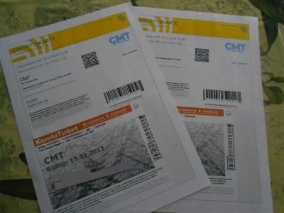 CMTのチケット