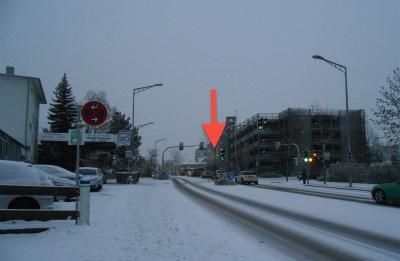 雪の帰り道2