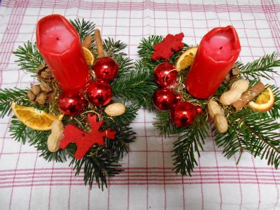 クリスマス飾り(ユッタさんより)