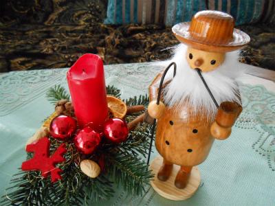 クリスマス飾り(パイプおじさんと)